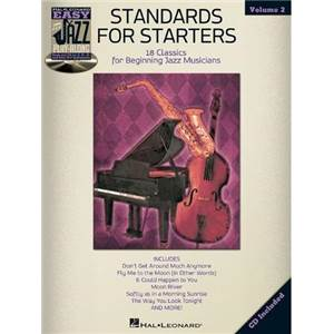 COMPILATION - EASY JAZZ PLAY ALONG VOL.2 STANDARDS FOR STARTERS FOR ALL INSTRUMENTS + CD