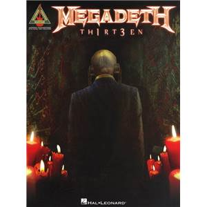 MEGADETH - TH1RT3EN GUITAR TAB.