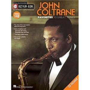 COLTRANE JOHN - JAZZ PLAY ALONG VOL.148 FAVORITES + CD