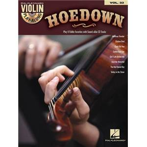 COMPILATION - VIOLIN PLAY ALONG VOL.033 HOEDOWN + CD