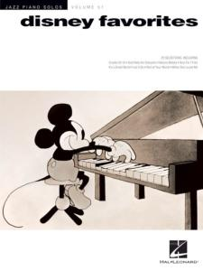 DISNEY - JAZZ PIANO SOLOS VOL.51 DISNEY FAVORITES FOR PIANO SOLOS
