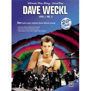 WECKL DAVE - ULTIMATE PLAY ALONG LEVEL 1 VOL.2 + CD
