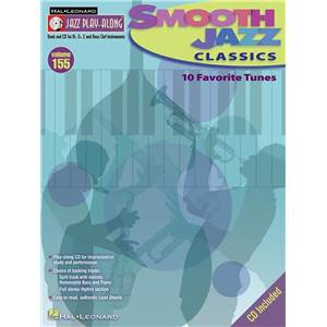 COMPILATION - JAZZ PLAY ALONG VOL.155 SMOOTH JAZZ CLASSICS + CD