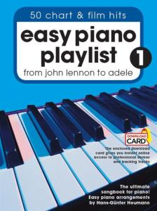 HEUMANN H.G. - EASY PIANO PLAYLIST VOL.1 + ONLINE AUDIO ACCESS