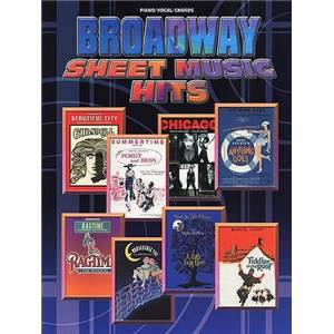 COMPILATION - BROADWAY SHEET MUSIC HITS P/V/G