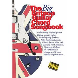 COMPILATION - BIG GUITAR CHORD SONGBOOK : BRITPOP