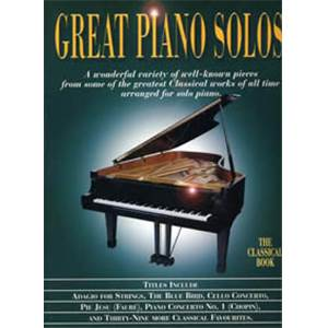 COMPILATION - GREAT PIANO SOLOS CLASSIC BOOK