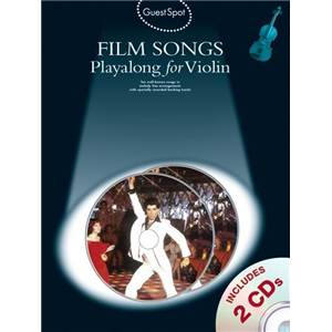 COMPILATION - GUEST SPOT FILM SONGS VIOLIN + 2CD