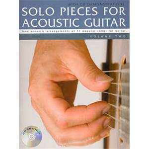 COMPILATION - SOLO PIECES FOR ACOUSTIC GUITAR VOL.2 + CD