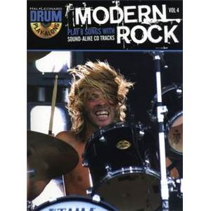 COMPILATION - DRUM PLAY ALONG MODERN ROCK VOL.4 + CD ÉPUISÉ