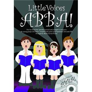 ABBA - LITTLE VOICES SS/ACCOMPAGNEMENT PIANO + CD