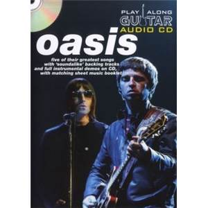 OASIS - PLAY ALONG GUITAR + CD ÉPUISÉ