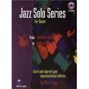VEGA MARK - JAZZ SOLO SERIES GUITAR TAB. + CD