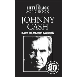 CASH JOHNNY - LITTLE BLACK SONGBOOK BEST OF AMERICAN REDORDINGS 80 CHANSONS