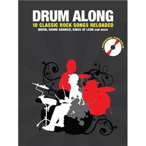 COMPILATION - DRUM ALONG 10 CLASSIC ROCK SONGS RELOADED + CD