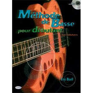BOELL ERIC - METHODE DE BASSE DEBUTANT + CD
