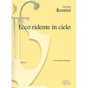 ROSSINI - ECCO RIDENTE IN CIELO TENOR ET PIANO