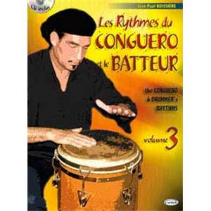 BOISSIERE JEAN PAUL - RYTHMES DU CONGUERO VOL.3 + CD