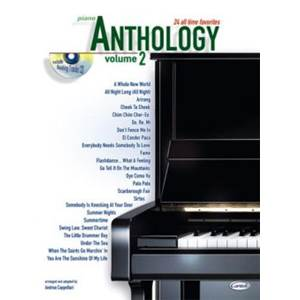 COMPILATION - ANTHOLOGY PIANO VOL.2 24 ALL TIME FAVORITES + CD