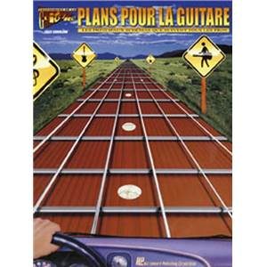SOKOLOW FRED - PLANS POUR LA GUITARE FRETBOARD ROADMAP VERSION FRANCAISE + CD