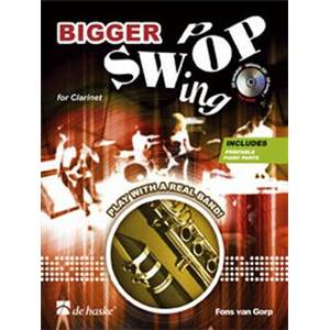 DE GORP FONS - BIGGER SWOP (SWING POP) POUR CLARINETTE + CD