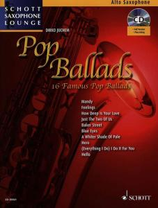 COMPILATION -  POP BALLADS FOR ALTO SAXOPHONE (MIB) +AUDIO ONLINE