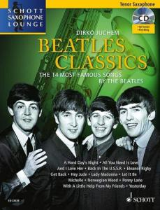 BEATLES CLASSICS FOR TENOR SAXOPHONE (SIB) +CD