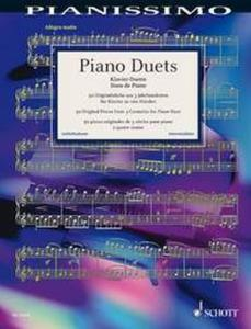 PIANO DUETS (50 PIECES ORIGINALES DE 3 SIECLES) - PIANO A 4 MAINS