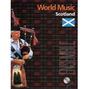 COMPILATION - WORLD MUSIC SCOTLAND (ECOSSE) CONDUCTEUR ET PARTIES + CD