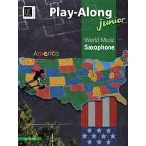 COMPILATION - WORLD MUSIC AMERICA JUNIOR (AMERIQUE) SAXOPHONE ET PIANO + CD