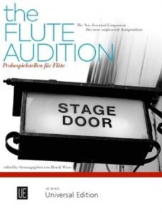THE FLUTE AUDITION (TRAITS D'ORCHESTRE) - FLUTE TRAVERSIERE SOLO