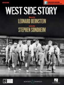 BERNSTEIN LEONARD - WEST SIDE STORY VOCAL SELECTIONS +CD - VOIX ET PIANO