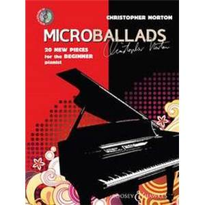 NORTON CHRISTOPHER - MICROBALLADS PIANO + CD