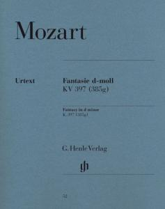 MOZART W.A. - FANTAISIE KV397 (385G) RE MINEUR - PIANO