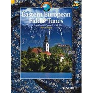 COMPILATION - EASTERN EUROPEAN FIDDLE TUNES (80 TRADITIONNELS) + CD VIOLON