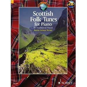 SCOTTISH FOLK TUNES + CD (32 TRADITIONNELS ECOSSAIS) - PIANO