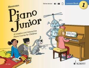 HEUMANN HANS GUNTER - PIANO JUNIOR : LESSON BOOK 1 +ONLINE ACCESS