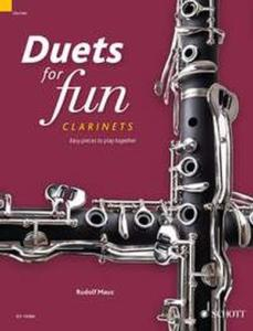 COMPILATION - DUETS FOR FUN : CLARINETS - 2 CLARINETTES