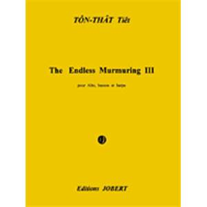 TON THAT TIET - THE ENDLESS MURMURING III - ALTO, BASSON ET HARPE