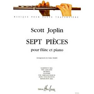 JOPLIN SCOTT - PIECES (7) - FLUTE ET PIANO
