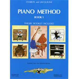 HERVE/POUILLARD - PIANO METHOD BOOK 1 - PIANO