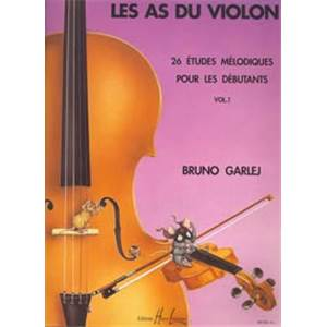 GARLEJ B/GONZALES JF - LES AS DU VIOLON VOL.1