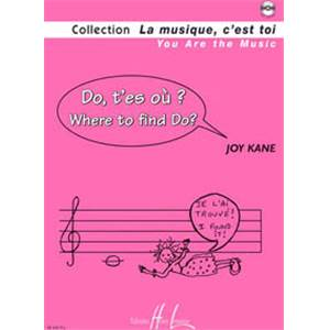 KANE JOY - DO T'ES OU ? - WHERE TO FIND DO ? + CD - FORMATION MUSICALE