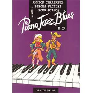 CHARTREUX ANNICK - PIANO JAZZ BLUES 3