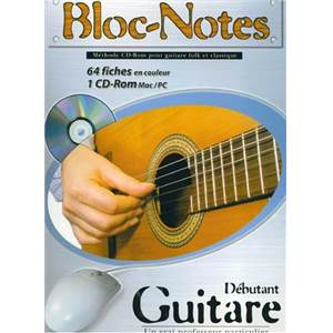 ROUX DENIS - BLOC NOTES GUITARE COUP DE POUCE TAB. + CD ROM