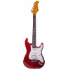 GUITARE ELECTRIQUE SOLID BODY JM FOREST ST73 RA CANDY RED