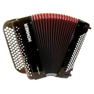 ACCORDEON BOUTONS HOHNER NOVA II 80 ROUGE