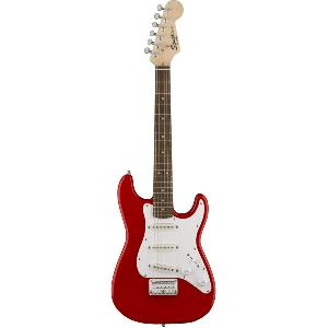 GUITARE ELECTRIQUE SQUIER MINI STRAT V2 RED