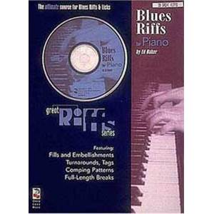BAKER ED - BLUES RIFFS FOR PIANO + CD
