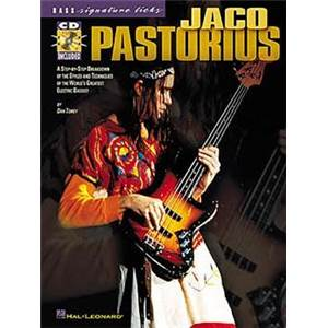 PASTORIUS JACO - BASS SIGNATURE LICKS TAB. + CD
